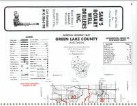 Map Image 014, Green Lake County 1985
